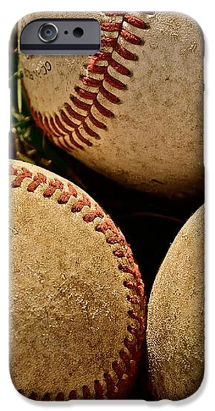America's Pastime iPhone Case by Bill Owen