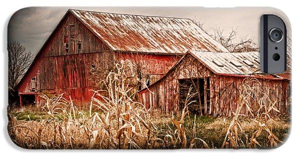 America's Small Farm iPhone Case by Randall Branham