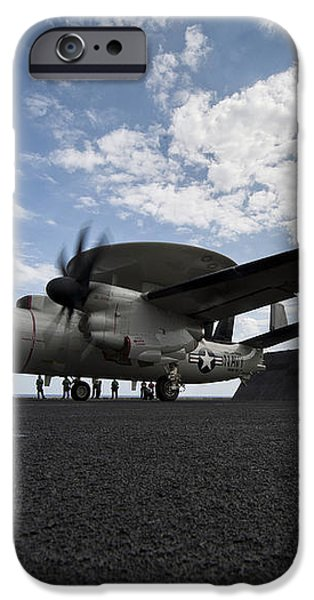 An E-2c Hawkeye Aircraft Prepares iPhone Case by Stocktrek Images