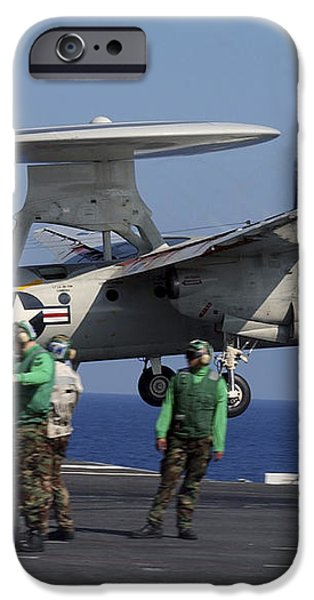 An  E-2c Hawkeye Launches From Aboard iPhone Case by Stocktrek Images