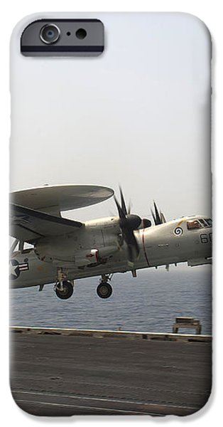 An E-2c Hawkeye Takes iPhone Case by Stocktrek Images