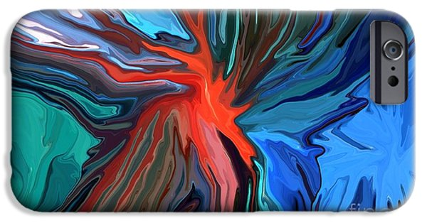 Concept Mixed Media iPhone Cases - Anarchy iPhone Case by Chris Butler