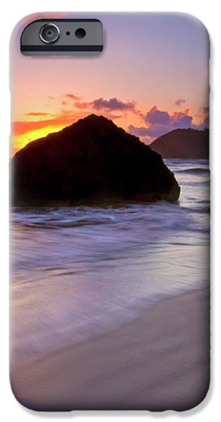 Anchoring the Beach iPhone Case by Mike  Dawson