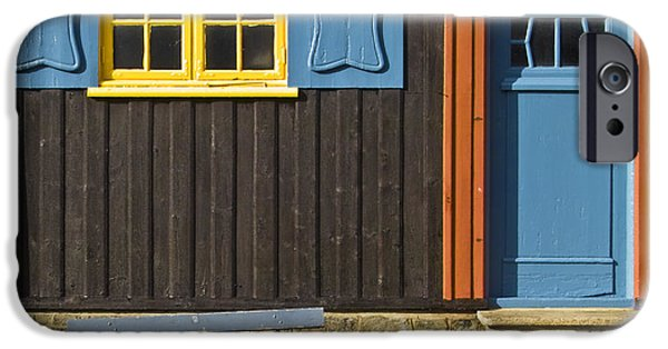 Frame House Photographs iPhone Cases - Ancient Frontage iPhone Case by Heiko Koehrer-Wagner
