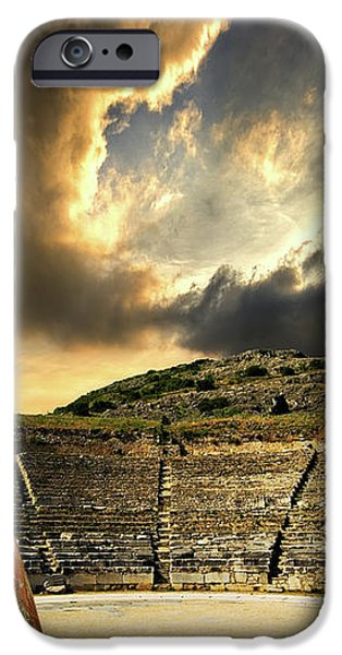 ancient greece iPhone Case by Meirion Matthias