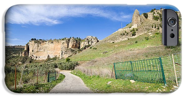 Pastureland iPhone Cases - Andalucia Countryside in Spain iPhone Case by Artur Bogacki