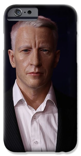 Anderson Hays Cooper - CNN - Anchor - News iPhone Case by Lee Dos Santos