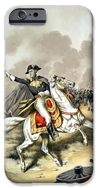 Us Presidents iPhone Cases - Andrew Jackson At The Battle Of New Orleans iPhone Case by War Is Hell Store