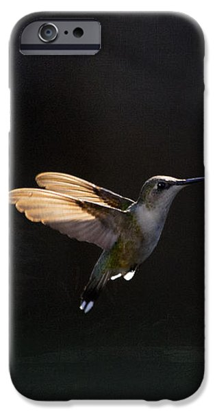 Angel Wings at Sunset iPhone Case by Cris Hayes