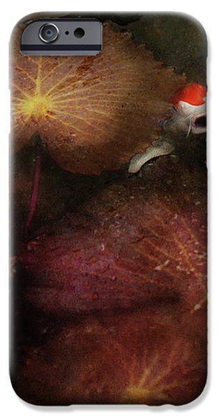 Animal - Fish - I will grant your wishes three iPhone Case by Mike Savad