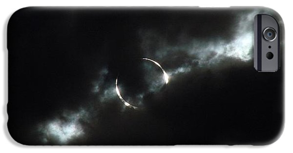 Solar Eclipse iPhone Cases - Annular Eclipse Ring of Fire 2012 iPhone Case by Scott McGuire