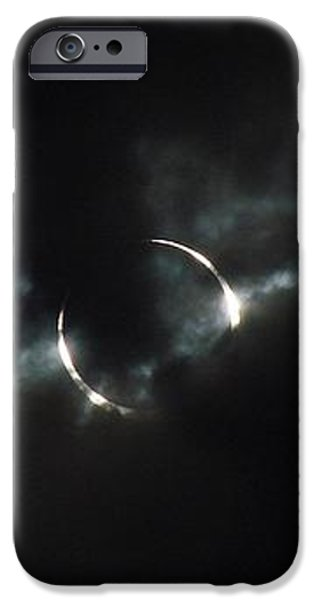 Annular Eclipse Ring of Fire 2012 iPhone Case by Scott McGuire