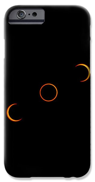 Annular Solar Eclipse, 10 May 1994 iPhone Case by Dr Fred Espenak