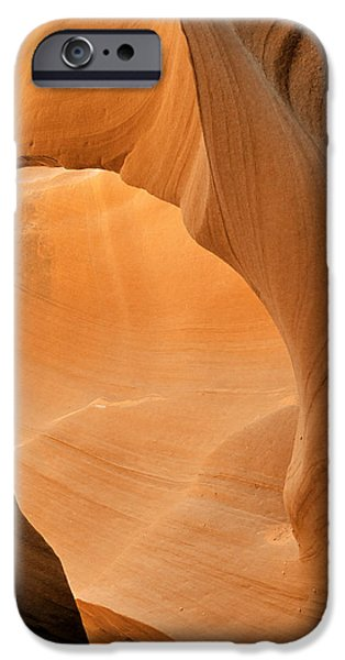 Antelope Canyon - Another world iPhone Case by Christine Till