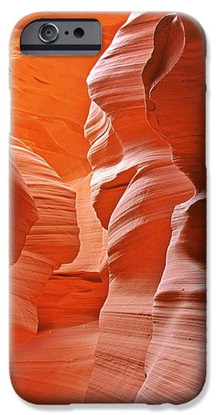 Antelope Canyon - Nature's Art Gallery iPhone Case by Christine Till