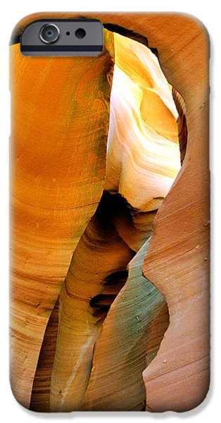 Arizona iPhone Cases - Antelope Canyon - Natures extravaganza iPhone Case by Christine Till