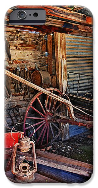 Antique Shed iPhone Case by Melany Sarafis