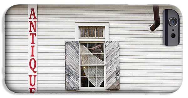 Overhang iPhone Cases - Antique Store Facade iPhone Case by Jeremy Woodhouse