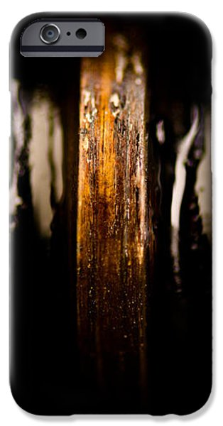 Antique Vise Worm Gear iPhone Case by  onyonet  photo studios