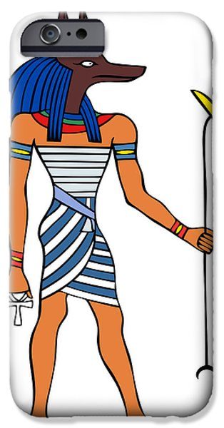 Anubis iPhone Case by Michal Boubin