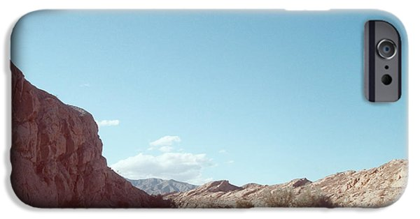 Outdoors iPhone Cases - Anza Borrego Mountains iPhone Case by Naxart Studio