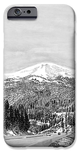 Apache Summit Siera Blanco iPhone Case by Jack Pumphrey