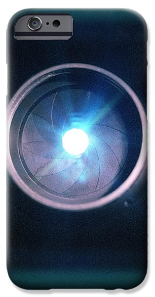 Aperture Flare iPhone Case by Richard Kail