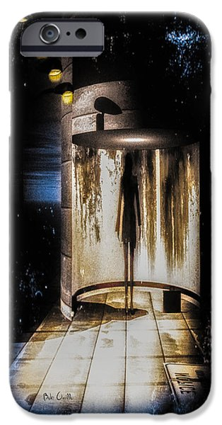 Collectible Mixed Media iPhone Cases - Apparition iPhone Case by Bob Orsillo
