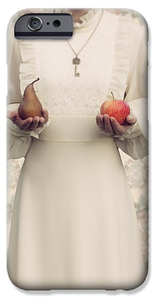 Pears iPhone Cases - Apple And Pear iPhone Case by Joana Kruse
