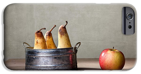 Concept iPhone Cases - Apple and Pears 01 iPhone Case by Nailia Schwarz