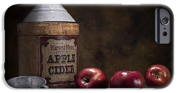 Apple Photographs iPhone Cases - Apple Cider Still Life iPhone Case by Tom Mc Nemar