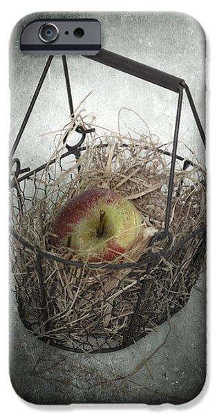 Basket Photographs iPhone Cases - Apple iPhone Case by Joana Kruse