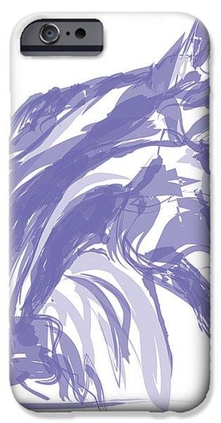 Apple soft  iPhone Case by Go Van Kampen