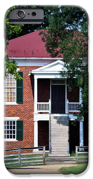Appomattox County Court House 1 iPhone Case by Teresa Mucha