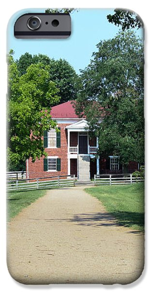 Appomattox County Court House 2 iPhone Case by Teresa Mucha