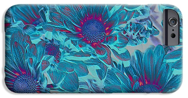 Aimelle Prints iPhone Cases - Aqua Blue Beauties iPhone Case by Aimelle
