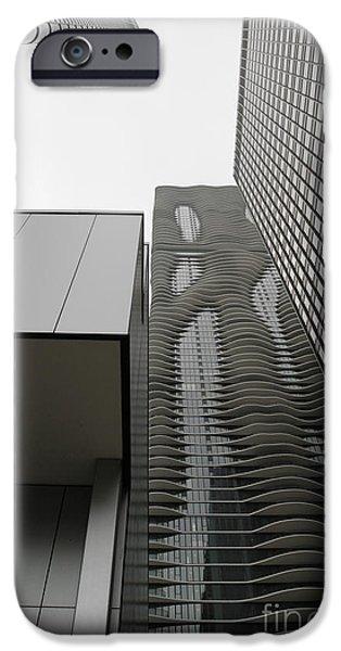 Aqua Condominiums Photographs iPhone Cases - Aqua in the neighborhood iPhone Case by David Bearden