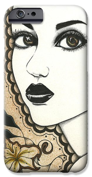 Arabel iPhone Case by Nora Blansett