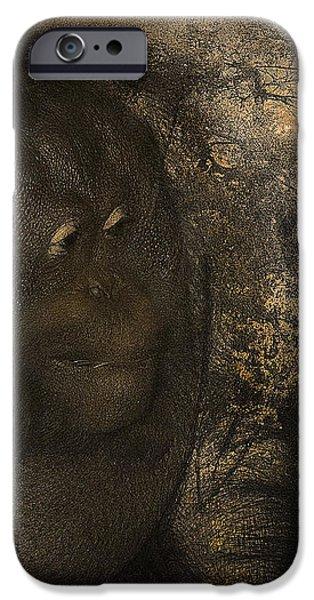 Arboreal Dreams iPhone Case by Arne Hansen