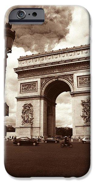 Arc de Triomphe iPhone Case by Kathy Yates