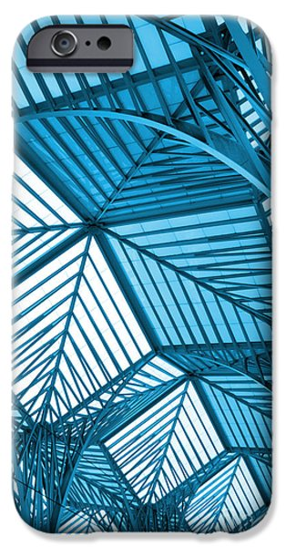 Business Photographs iPhone Cases - Architecture Design iPhone Case by Carlos Caetano