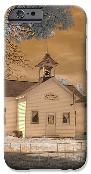 Arcola Illinois School iPhone Case by Jane Linders