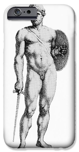 Warrior Goddess Photographs iPhone Cases - Ares, Greek God Of War iPhone Case by Photo Researchers