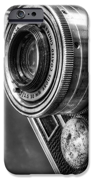Camera iPhone Cases - Argus C3 iPhone Case by Scott Norris
