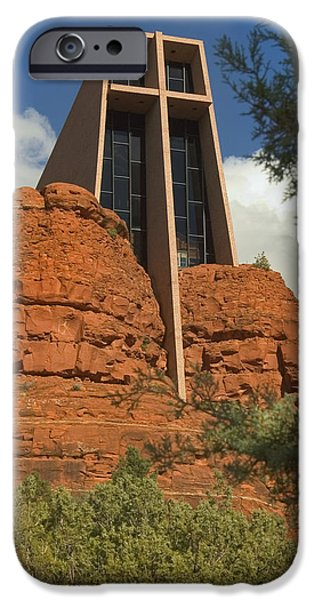 Chapels iPhone Cases - Arizona Outback 4 iPhone Case by Mike McGlothlen