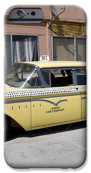 ARIZONA: TAXI, 2009 iPhone Case by Granger
