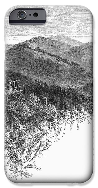 ARKANSAS: MOUNTAiNS, 1878 iPhone Case by Granger