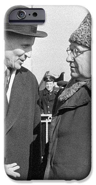 Arkhangelsky, Tupolev, Soviet Engineers iPhone Case by Ria Novosti