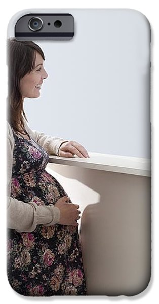 Arriving At Maternity Unit iPhone Case by