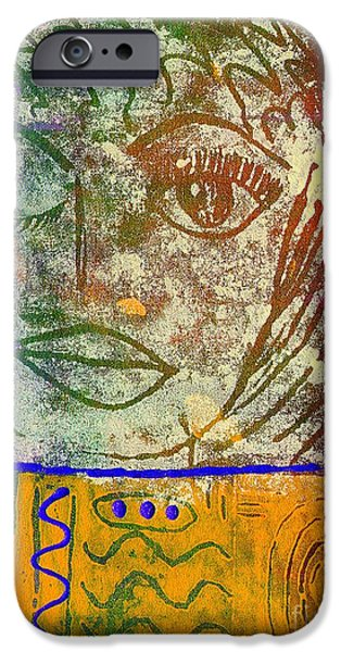 African-americans Tapestries - Textiles iPhone Cases - ART   Always Remember Truth iPhone Case by Angela L Walker